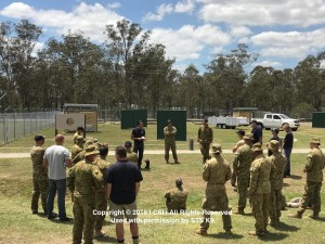Nino Drowaert RAAF MWD Seminar November 2017 - Group Shot